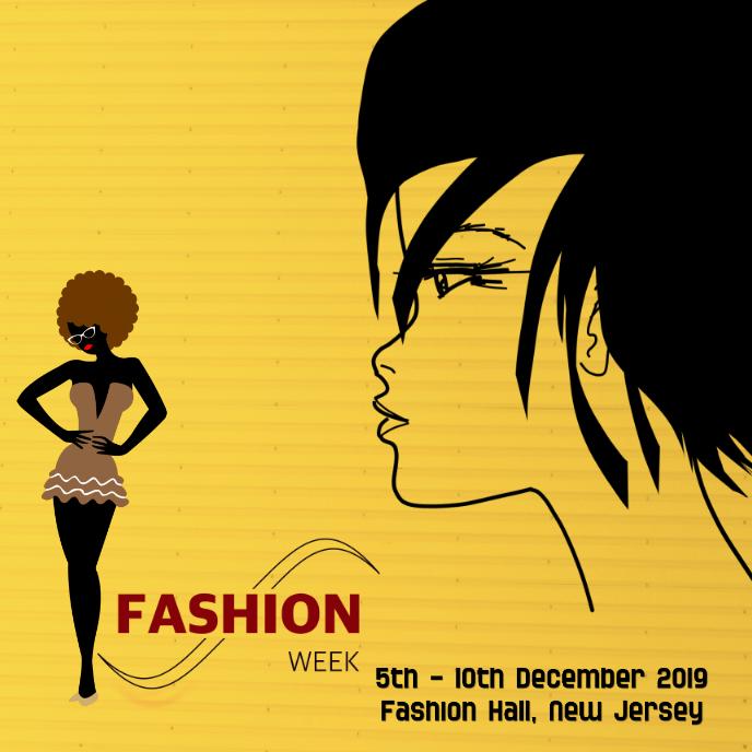 fashion Album Cover, poster flyer