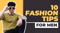 Fashion and style youtube Thumbnail design YouTube-miniature template