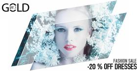 fashion beauty salon sale promotion facebook post template