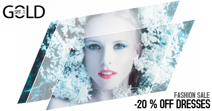 Fashion Beauty Salon Sale Promotion Facebook Post Template