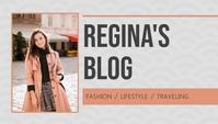 Fashion Blog Header Template 博客标题