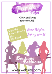 Fashion Boutique Poster
