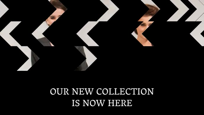 Fashion Collection Video Template Promotion For Facebook
