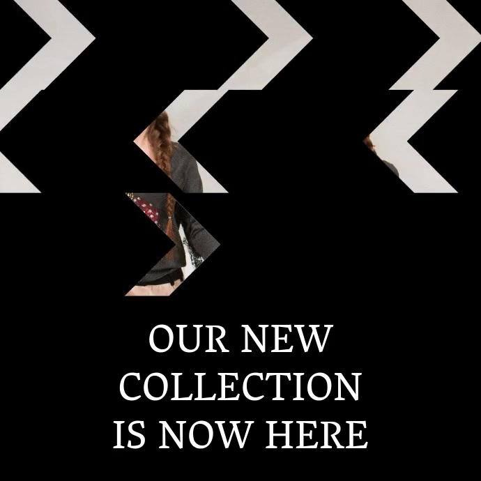 Fashion Collection Video Template Promotion For Instagram