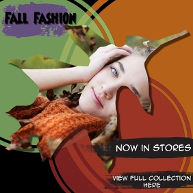 fashion cover/instagram/fall/autumn/leaves