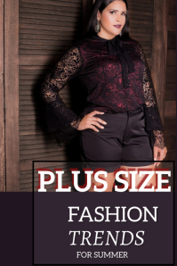 Fashion Pinterest Graphic template