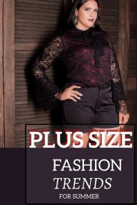 Fashion Grafik Pinterest template
