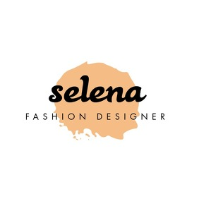 Fashion designer signature logo Logotipo template