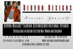 fashion designers Poster template