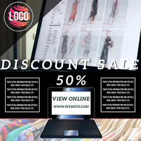 FASHION DISCOUNT SALE AD TEMPLATE