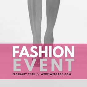 Fashion Event Instagram Video post Template