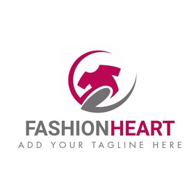 fashion heart icon tshirt icon