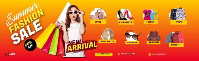 Fashion LinkedIn Career Cover Photo template