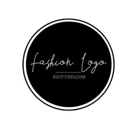 fashion logo template