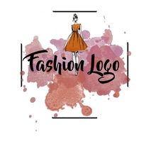 Fashion logo Logotipo template