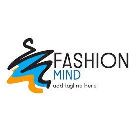 fashion logo shop or company icon
