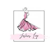 fashion logo template โลโก้
