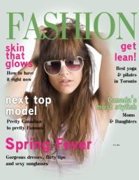 Fashion Magazine Cover