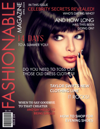 50 Fashion Magazine Cover Customizable Design Templates Postermywall