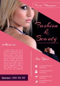fashion Magazine Flyer Template