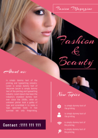 fashion Magazine Flyer Template