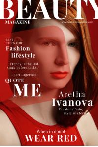 Fashion Magazine Style Cover