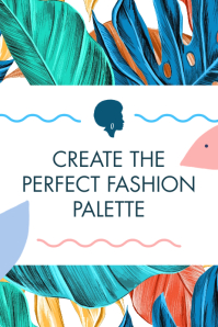 Fashion Palette Pinterest Graphic