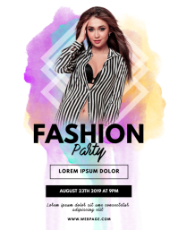 Fashion Party Flyer Template