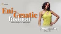 Fashion Poster Facebook Video Film w tle na Facebooka (16:9) template