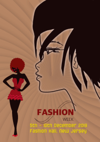 Fashion Poster Template banner
