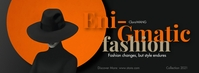 Fashion Poster Template Facebook 封面图片