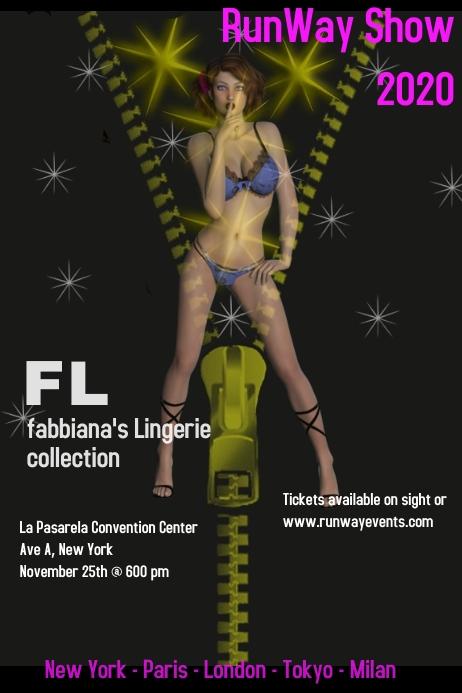 fashion/runway/lingerie/style/catwalk