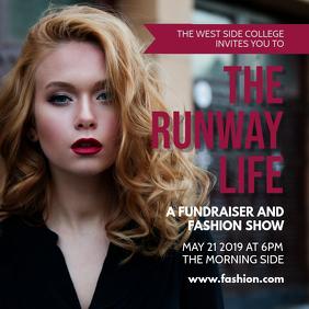 Fashion Runway Show Instagram Post
