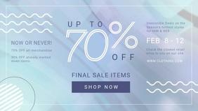Fashion sale ad