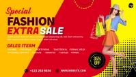 Fashion Sale Blog Header Blogkop template