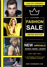 fashion sale A4 template