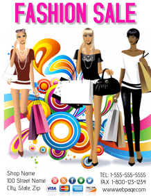 Fashion Sale Event Template