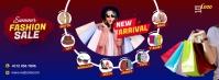 Fashion Sale Facebook cover photo template
