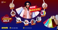 Fashion Sale Facebook Group cover photo template