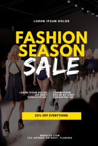 Fashion Sale Flyer Design Template