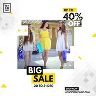 Fashion Sale Instagram Ads template