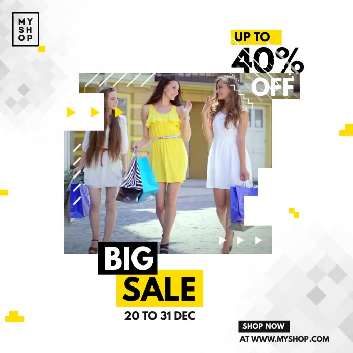 Fashion Sale Instagram Ads template