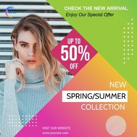 Fashion Sale Instagram template