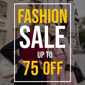 Fashion sale instagram post ad