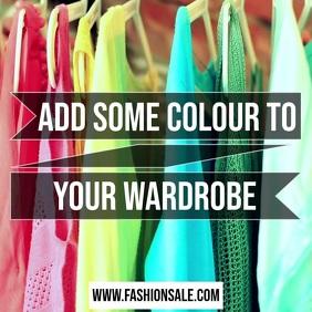 Fashion sale Instagram post