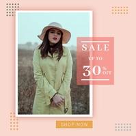 Fashion Sale Instagram Post Template