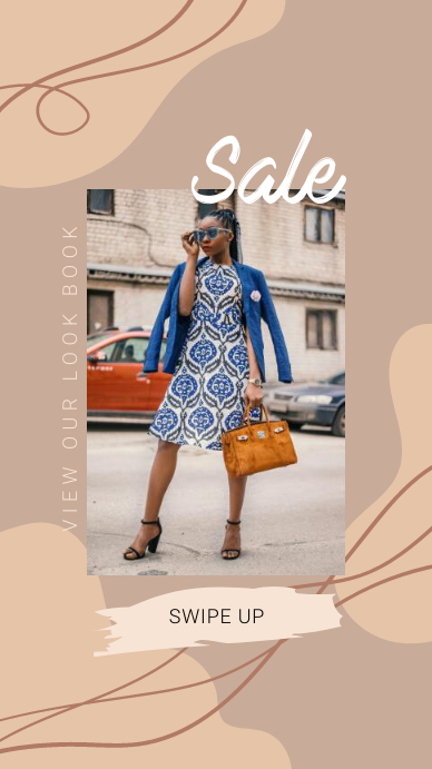 Fashion Sale Instagram Story template