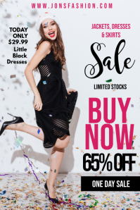 Fashion Sale Poster Template