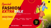 Fashion Sale Twitch Banner template