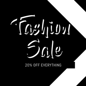 Fashion sale Video promotion for instagram
